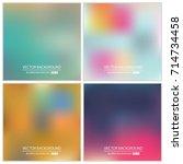 abstract creative concept... | Shutterstock .eps vector #714734458