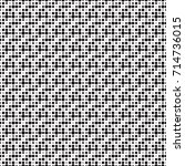 abstract dot seamless pattern... | Shutterstock .eps vector #714736015
