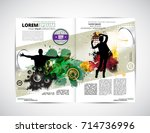 brochure layout | Shutterstock .eps vector #714736996