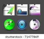 disc designs | Shutterstock .eps vector #71477869