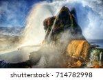 fly geyser arizona   Shutterstock . vector #714782998