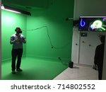 new york  august 2017  virtual... | Shutterstock . vector #714802552