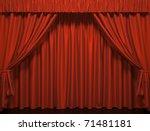 Theater Curtain.  Presentation...