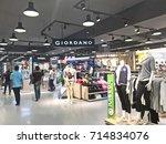bangkok  thailand   august 13 ... | Shutterstock . vector #714834076