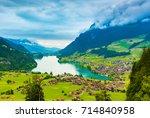 The Beautiful Interlaken Valley ...