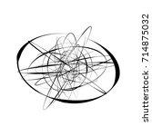 circular geometric motif.... | Shutterstock .eps vector #714875032