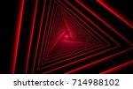 Triangle Future Space Tunnel. A ...