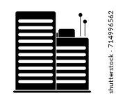 buildings icon | Shutterstock .eps vector #714996562