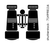 binoculars icon | Shutterstock .eps vector #714998116