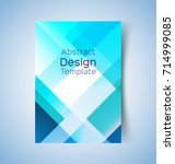 multipurpose layout design.... | Shutterstock .eps vector #714999085