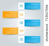 business infographic banner... | Shutterstock .eps vector #715017046