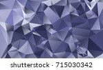 abstract polygonal mosaic... | Shutterstock .eps vector #715030342