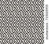 vector seamless pattern. modern ... | Shutterstock .eps vector #715035955