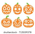 halloween pumpkin vector desgin ...