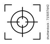 target icon | Shutterstock .eps vector #715057642