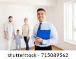 real estate  mortgage and... | Shutterstock . vector #715089562