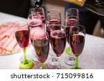 snacks and meals on the table | Shutterstock . vector #715099816