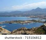 beautiful ocean view as... | Shutterstock . vector #715106812