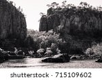View Of The Sandstone Cliffs I...