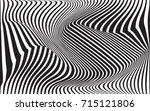 optical art abstract background ... | Shutterstock . vector #715121806
