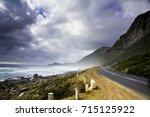 chapmans peak drive | Shutterstock . vector #715125922