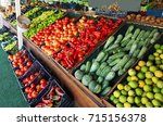 Grocery Market Fruits Vegetabe...