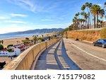 View Of California Coastal...