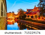 slovenia. ljubljana. beautiful... | Shutterstock . vector #715229176