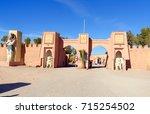 ouarzazate  morocco   jan 4 ...   Shutterstock . vector #715254502