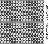 vertical curved wavy lines... | Shutterstock .eps vector #715263505