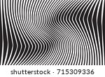 optical art abstract background ... | Shutterstock . vector #715309336