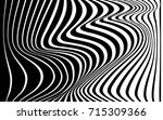 optical art abstract background ... | Shutterstock . vector #715309366