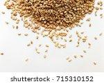 sesame seeds | Shutterstock . vector #715310152