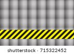 line yellow and black color... | Shutterstock .eps vector #715322452