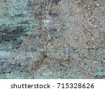 weathered painted concrete... | Shutterstock . vector #715328626