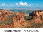 The Colorado National Monument...