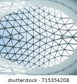 Modern and contemporary arcitecture fiction. Abstract architecture fragment.