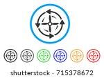 screw rotation icon. vector...