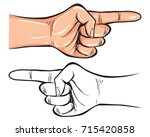 vector illustration. hand... | Shutterstock .eps vector #715420858