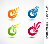 business design elements   icon ... | Shutterstock .eps vector #71545624