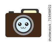 photographic camera icon  | Shutterstock .eps vector #715458922