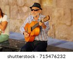 cordoba  spain   october 16 ... | Shutterstock . vector #715476232