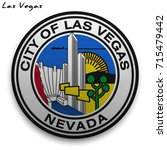 great seal of the usa city of... | Shutterstock .eps vector #715479442