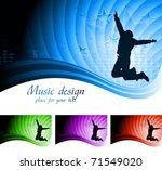 vector illustration of abstract ... | Shutterstock .eps vector #71549020
