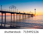 Brighton Beach Pier With Peopl...