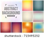 abstract creative concept...   Shutterstock .eps vector #715495252