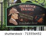 london   august 24  2017  the...   Shutterstock . vector #715556452