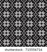 seamless vector geometric...   Shutterstock .eps vector #715556716