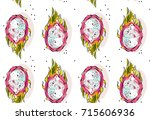 hand drawn vector abstract... | Shutterstock .eps vector #715606936