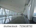 pedestrian crossing in the... | Shutterstock . vector #715618732